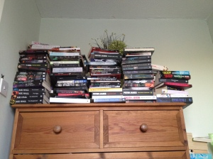 A small sample of my 'to read' books